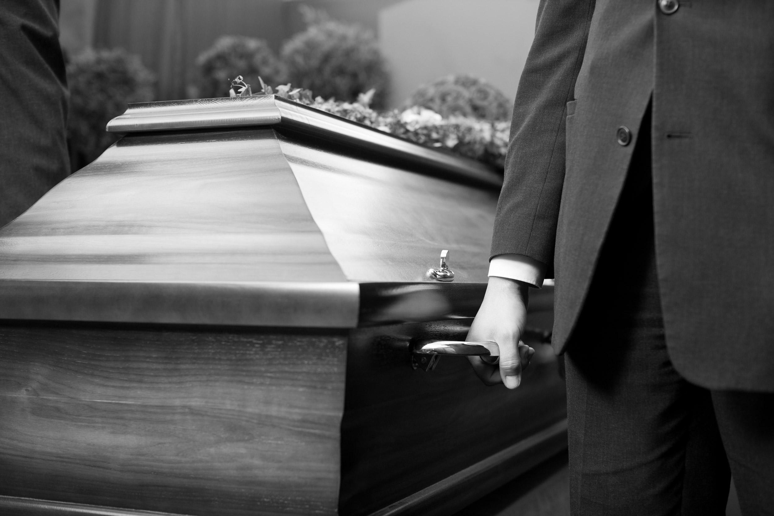 porteur professionnel cercueil